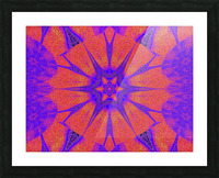Lotus And Sunshine 2 Picture Frame print