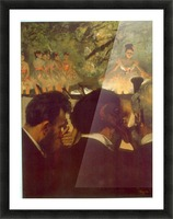 Musicians by Degas Picture Frame print