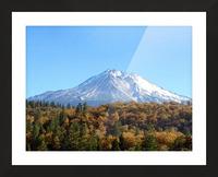 Mt Shasta in Autumn Picture Frame print