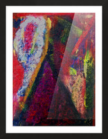 The Climber Picture Frame print
