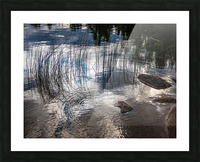 water circles Picture Frame print