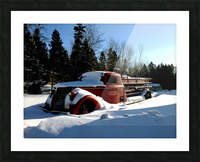 superior fire truck Picture Frame print