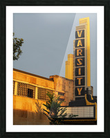 Varsity Theater  Picture Frame print