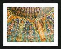 mosaic angels Picture Frame print