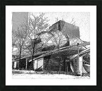 Millenium Park Chicago Picture Frame print