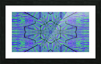 Light Of The Blue Moon Lotus Picture Frame print