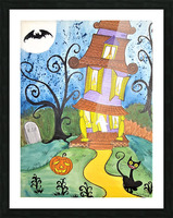 Spooktacular Night  Picture Frame print
