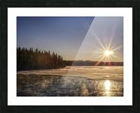lac Sebastien Picture Frame print