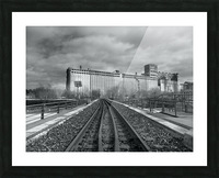 Vieux Montreal Picture Frame print