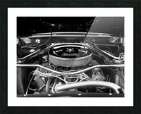 351 Mustang Picture Frame print