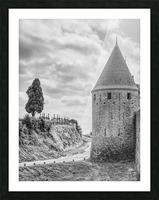 Carcassonne Picture Frame print