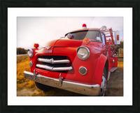 Pompier Picture Frame print