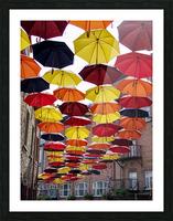 parapluies Picture Frame print