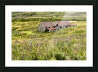 Scottish Highlands Barn Picture Frame print