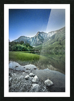 Twilight on the Lake Picture Frame print