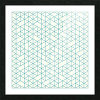 Abstract lines  Picture Frame print