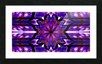 Lotus In Glow 14 Picture Frame print