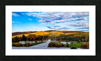 Autumn from the Mountain Picture Frame print