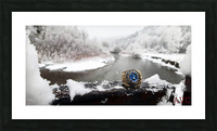 One for the Ring-- Winter Picture Frame print