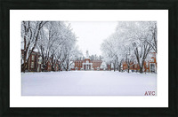 Upper Parade Ground- Winter Picture Frame print