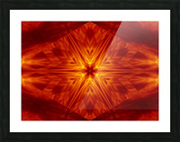 Fire Flowers 1 Picture Frame print