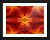 Fire Flowers 2 Picture Frame print