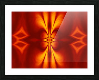 Fire Flowers 12 Picture Frame print