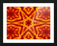 Fire Flowers 13 Picture Frame print