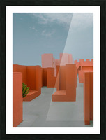 Monument Valley Picture Frame print