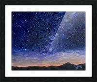 Stargazer Picture Frame print