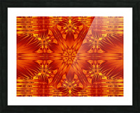 Fire Flowers 141 Picture Frame print