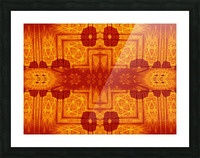 Fire Flowers 158 Picture Frame print