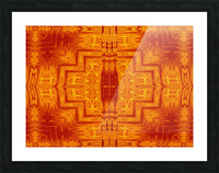 Fire Flowers 159 Picture Frame print