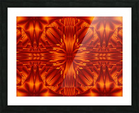 Fire Flowers 188 Picture Frame print