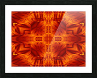 Fire Flowers 194 Picture Frame print