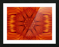 Fire Flowers 204 Picture Frame print