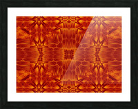 Fire Flowers 218 Picture Frame print