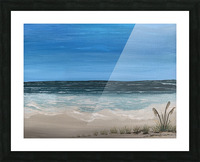 Ocean side Picture Frame print