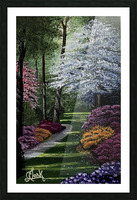Spring in the Park Picture Frame print