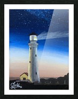 Lighting the Way Picture Frame print