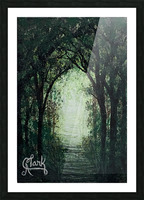 Path in the Woods Picture Frame print