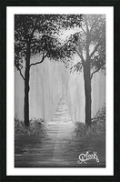 Into the Woods Picture Frame print