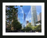 One World Trade Center Picture Frame print
