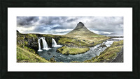 Kirkjufell Picture Frame print