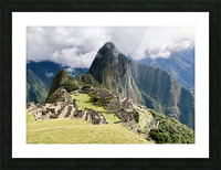 The Lost Citadel Picture Frame print
