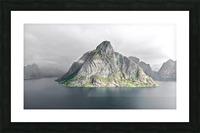 Lofoten 1 Stylized Picture Frame print