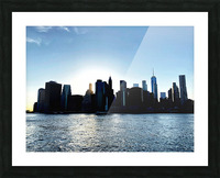 Before the Lights Come On Picture Frame print