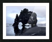 Hvitserkur Picture Frame print