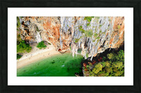 Thai From Up High Picture Frame print