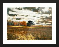 barn um lisadrewphotos Picture Frame print